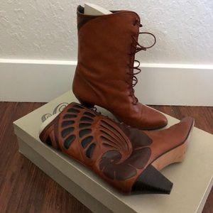 Shoes - Beltrami Leather Boots (Camel) size 9